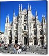 Milan Duomo Cathedral Canvas Print