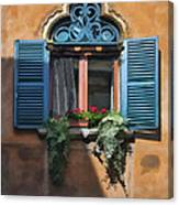 Milano Apartment Window Canvas Print