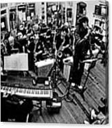 Mile High Jazz Band Comma Coffee Carson City Nevada Canvas Print