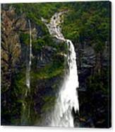 Milford Sound Waterfall Canvas Print
