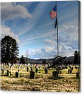 Military Honors Canvas Print