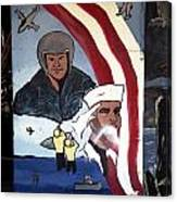 Military Mural Canvas Print