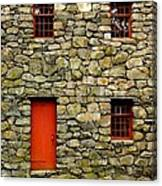 Mill House Over Stream Canvas Print