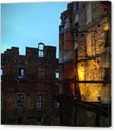 Mill Ruins Canvas Print