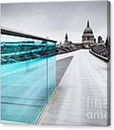 Millenium Commuter Canvas Print