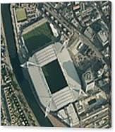 Millennium Stadium, Cardiff,aerial View Canvas Print