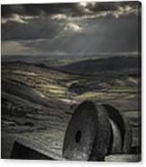 Millstones Canvas Print