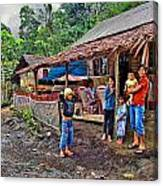 Minahasa Traditional Home 3 Canvas Print