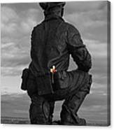 Miner Remembered Canvas Print