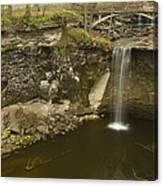Minneopa Falls 39 Canvas Print