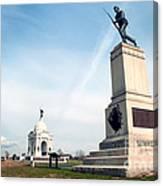 Minnesota Monument At Gettysburg Canvas Print