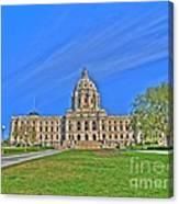 Minnesota State Capital Iv Canvas Print