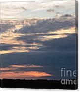 Minnesota Sunset 2 Canvas Print