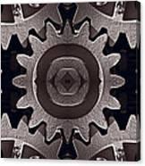 Mirror Gears Canvas Print