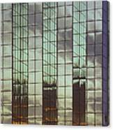 Mirrored Building Canvas Print