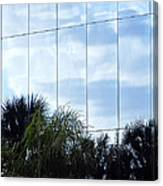 Mirrored Facade 1 Canvas Print