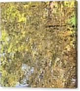 Mirroring Autumn Canvas Print