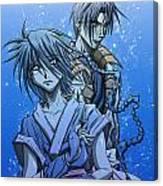 Misao And Aoshi Canvas Print