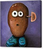 Misfit Potato Head 3 Canvas Print