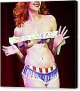 Miss America Canvas Print