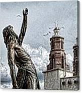 Mission At San Luis Canvas Print