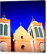 Mission Church Silver City Nm Canvas Print