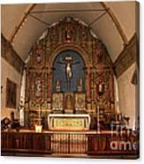 Mission San Carlos Borromeo De Carmelo  11 Canvas Print