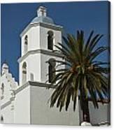 Mission San Luis Rey Iv Canvas Print