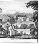 Missionary College, 1837 Canvas Print