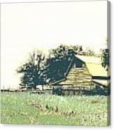Mississippi Farm Old Highway 61  Canvas Print