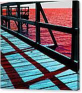 Mississippi  Pier - Ver. 10 Canvas Print
