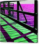 Mississippi  Pier - Ver. 8 Canvas Print