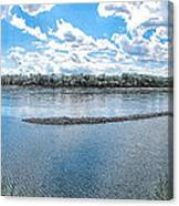 Mississippi River Panorama Canvas Print
