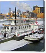Mississippi Riverboat Canvas Print