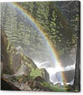 Mist Trail Rainbow Canvas Print