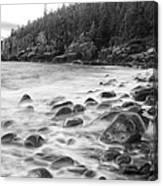 Misty Flow Canvas Print