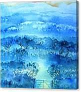 Misty Morning  Ireland  Canvas Print