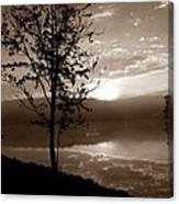 Misty Reflections S Canvas Print