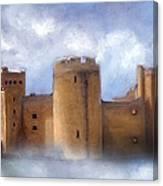 Misty Romantic Scotland Canvas Print