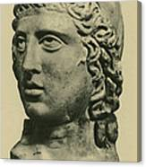 Mithras, Zoroastrian Divinity Canvas Print