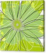 Moda Flower Mix I  Canvas Print