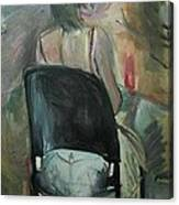 Model Figuration Canvas Print