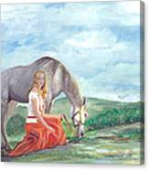 Modern Ayla Canvas Print