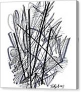 Modern Drawing 112 Canvas Print