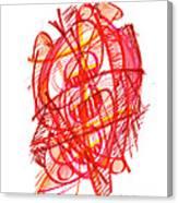 Modern Drawing 113 Canvas Print