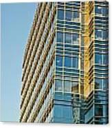 Modern Office Building Windows Canvas Print