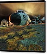 Moffett Field Landing Canvas Print
