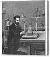 Moissan Isolating Fluorine, 1886 Canvas Print