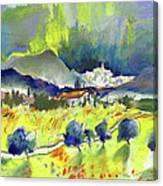 Mojacar In Spain 01 Canvas Print