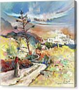 Mojacar In Spain 02 Canvas Print